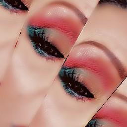 eyeshadow makeupart eyeshadowforhoodedeyes creativityflowingfreely imaginationandcreativitytransforms freetoedit