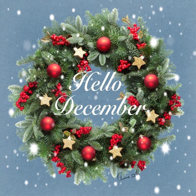 Hello!! ....  #december #people #snow  #hellodecember