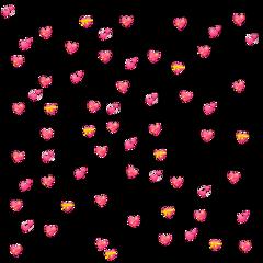 heart emoji background pink sparkle freetoedit