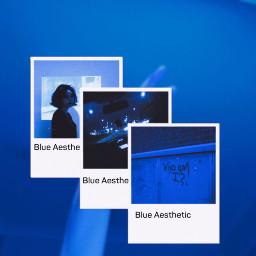 freetoedit blue hand creepy wow ecaesthetic aesthetic