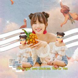 7hv_contest🌙  @aesthetic_loser freetoedit angel mina twice