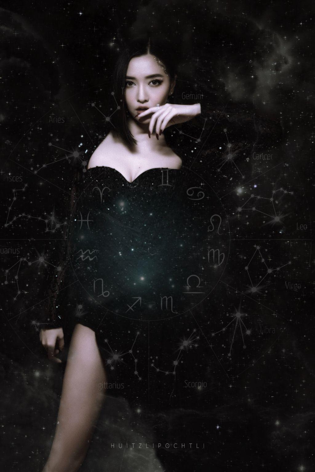 I am the Darkness   #surreal #galaxy #freetoedit
