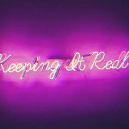 freetoedit keepingitreal real neon lights