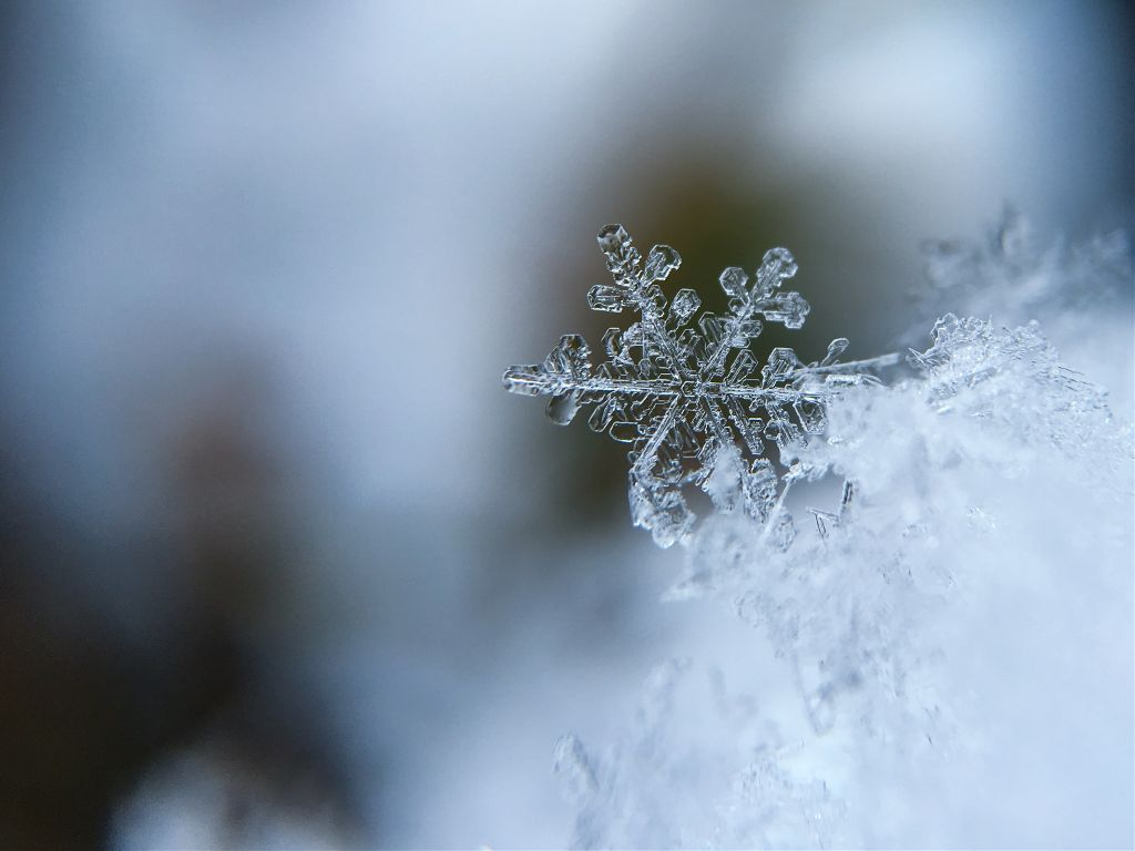 Awesome has no limits	 Unsplash (Public Domain) #snowflake #winter #snow #background #backgrounds #freetoedit