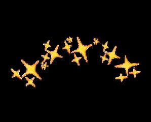 stars starcrown gold good crowntop2 freetoedit