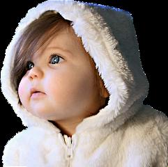 children child winter snow frost freetoedit