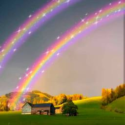 freetoedit rainbow arcoiris fullcolor colorful