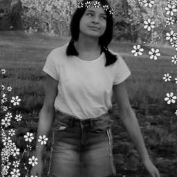 freetoedit me flowers blackandwhite frame