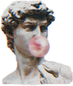 estatua tumblr glitch aesthetic freetoedit