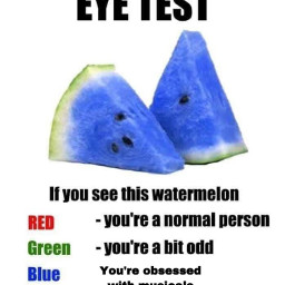 freetoedit fruit watermelon blue cool