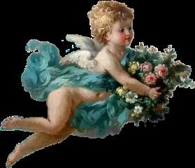 freetoedit aesthetic angel vintage renaissance