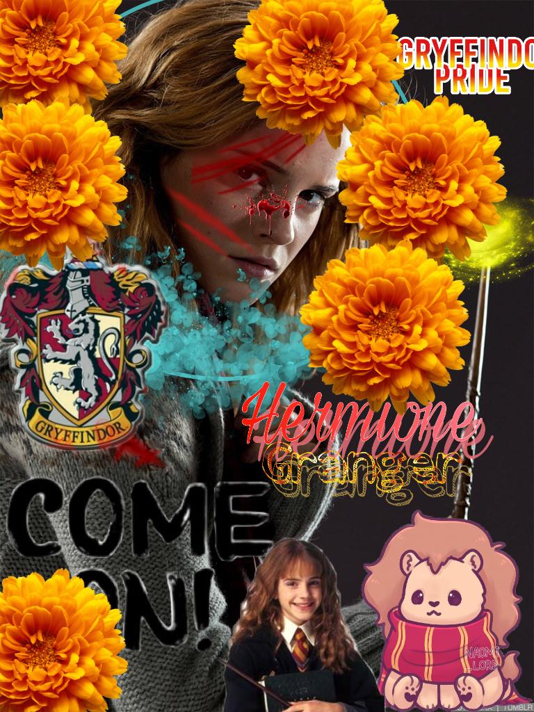 For @hermione-watson #HermioneGranger  #GryffindorPride #Fighter #warrior #Gryffindor #HarryPotter