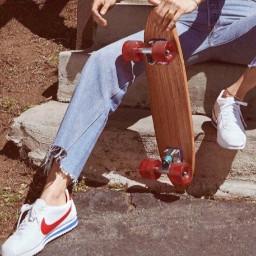 skateboard retro nike aesthetic