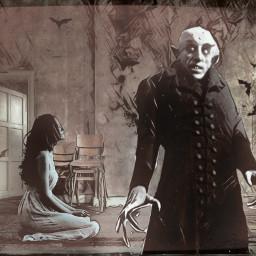 freetoedit nosferatu vampire horrormovies horrorart