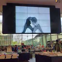video videoscreen bookshop museum museumstore