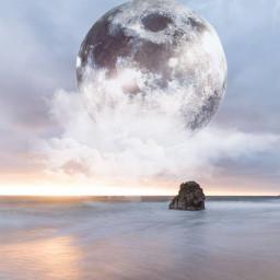 moon moonsticker moonremix freetoedit