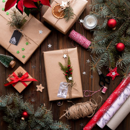 christmas present background backgrounds freetoedit