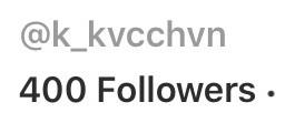 thankyou thanks 400 400followers followers
