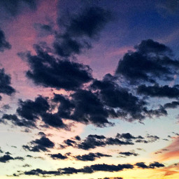 sunset colourful freetoedit