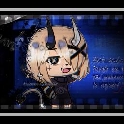 asthetic errorwolf devil blue bluedevils freetoedit