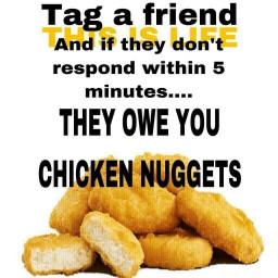 mylife yay food friend chickennuggets freetoedit