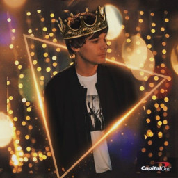 freetoedit louistomlinson corona king rey