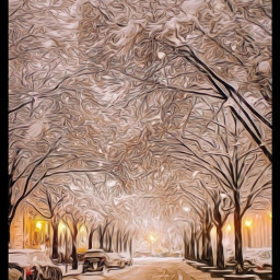 freetoedit @asweetsmile1 winter snow city