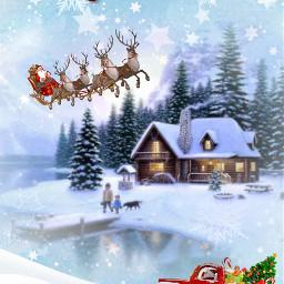 collage wintermood winter christmas merrychristmas scenery ccwintermoodboard wintermoodboard
