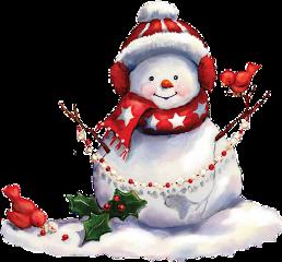 christmas winter snow frost snowman freetoedit