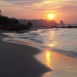 sunsetbeach mucuripe fortaleza_ce bluesky thankgod freetoedit