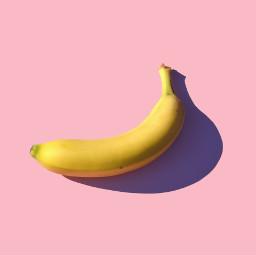 banana bananas pink freetoedit