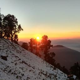 mountainview sunsetsky pcsnowyslopes snowyslopes