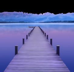 purple street bridge beach freetoedit