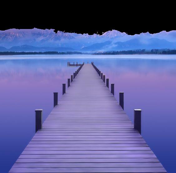 #purple #street #bridge #beach