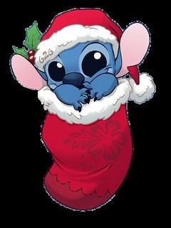 stitch christmas freetoedit