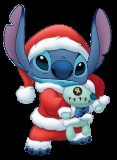 stitch christmas santaclaus freetoedit