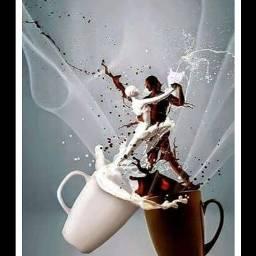 freetoedit @asweetsmile1 chocolate milk coffee