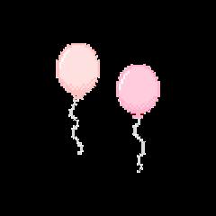kawaii balloon pastelpink aesthetic cute freetoedit