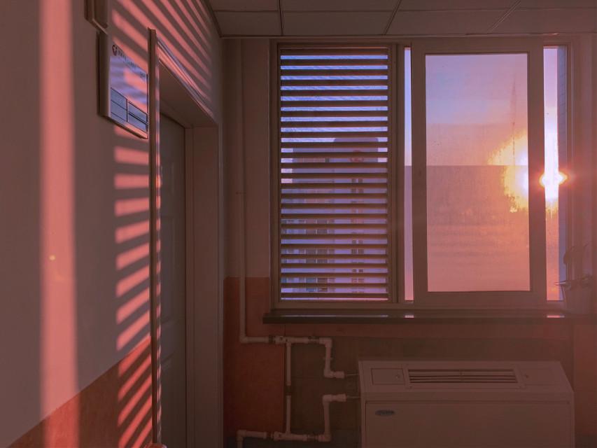 #freetoedit #sunset #window #shadow #sunlight
