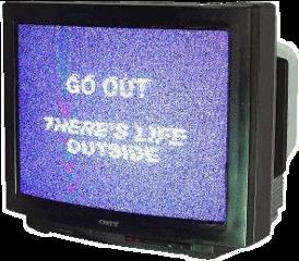 television purple error polyvore aesthetic freetoedit