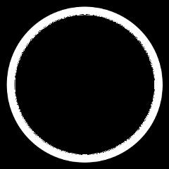 circle blackandwhite vintage wall frame freetoedit