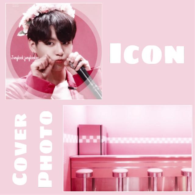 🌷Matching icon and cover for @jungkook_kookiee   🌷Hope you like it ^^   🌷#BTS #jungkook #jk #bangtan #kpop