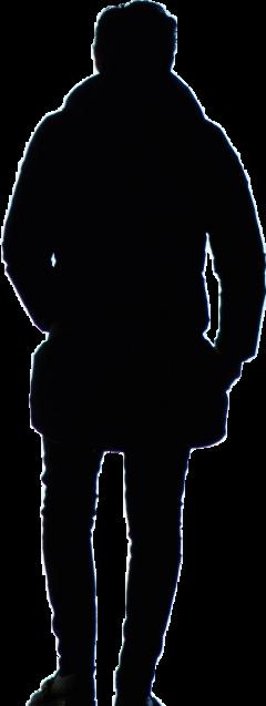 @chiquitacruz 👨 silhouette freetoedit ircmansilhouette mansilhouette