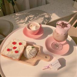 pink milkshake creamy cakes foods