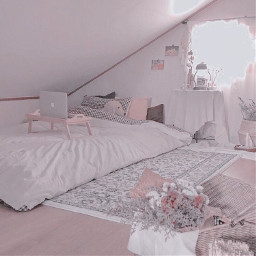 bed bedroom flowers sunshine cutie