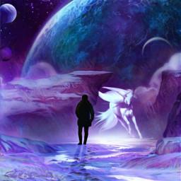 freetoedit fantasyart fantasy makebelieve imagination ircmansilhouette