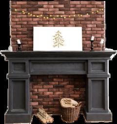 chimney freetoedit challenge christmas scfireplace