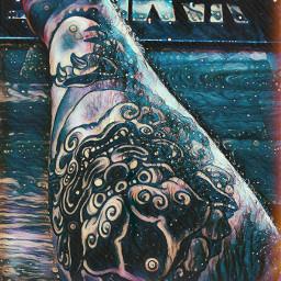tattoo tattooart night spce freetoedit