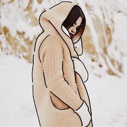 sketch sketcheffect outlines winter freetoedit