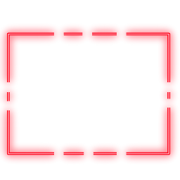 freetoedit neon rectangle red glow ftestickers